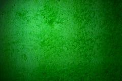 Fondo di lerciume del muro di cemento verde Fotografia Stock