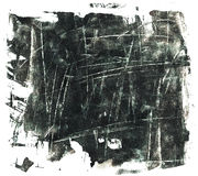 Fondo di lerciume del nero di Sqratched Fotografia Stock Libera da Diritti