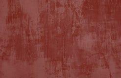 Fondo di lerciume della parete di pietra rossa Immagini Stock Libere da Diritti
