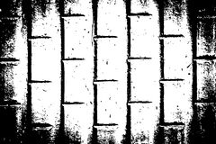Fondo di lerciume Modello urbano in bianco e nero di struttura di vettore di lerciume Immagini Stock