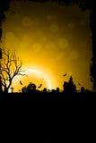 Fondo di lerciume per il partito di Halloween Fotografie Stock