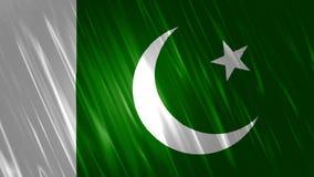 Fondo di Loopable della bandiera del Pakistan royalty illustrazione gratis