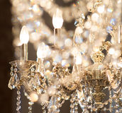 Fondo di lusso astratto dell'oro Natale, nuovo anno Immagini Stock Libere da Diritti