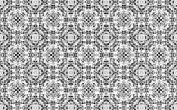 Fondo di lusso bianco del modello del cerchio royalty illustrazione gratis