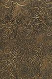 Fondo di lusso di struttura del pizzo con le rose Fotografia Stock