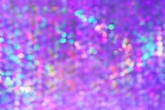 Fondo di lusso vago della luce porpora viola astratta del bokeh, scintillio della luce del bokeh di pendenza e fondo porpora di l fotografia stock