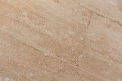 Fondo di marmo beige della piastrella per pavimento Marmo naturale Fotografia Stock
