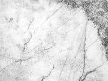 Fondo di marmo in bianco e nero di struttura di vista superiore Fotografia Stock