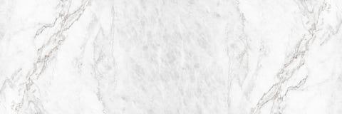 fondo di marmo bianco elegante orizzontale dell'estratto di struttura Immagine Stock Libera da Diritti