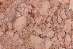Fondo di marmo marrone chiaro di struttura, modello naturale Fotografie Stock