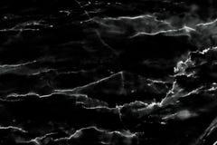 Fondo di marmo nero di struttura del modello Fotografia Stock