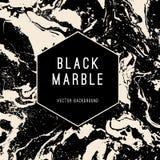 Fondo di marmo nero di vettore con l'insegna royalty illustrazione gratis