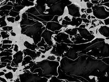 Fondo di marmo nero di vettore di struttura illustrazione vettoriale