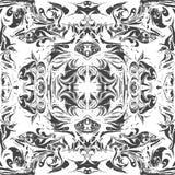 Fondo di marmorizzazione di ebru astratto di vettore royalty illustrazione gratis