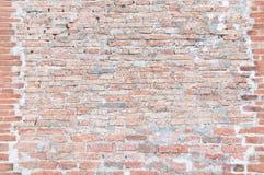 Fondo di marrone del muro di mattoni Fotografia Stock Libera da Diritti
