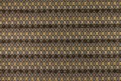 Fondo di marrone scuro con i modelli geometrici Immagini Stock Libere da Diritti