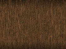 Fondo di marrone scuro con un effetto legnoso di struttura con le vene sottili leggere Fotografia Stock Libera da Diritti