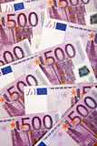 Fondo di moneta europea Immagini Stock