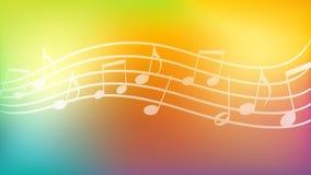 Fondo di musica, carta da parati, estratto, ambiti di provenienza Immagine Stock Libera da Diritti