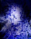 Fondo di musica di lerciume illustrazione vettoriale
