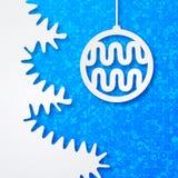Fondo di Natale. Fotografia Stock