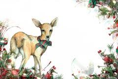Fondo di Natale Fotografia Stock