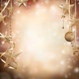 Fondo di Natale Fotografie Stock
