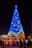 Fondo 02 di Natale Fotografie Stock