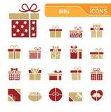 Fondo di Natale con gli elementi dell'ornamento royalty illustrazione gratis