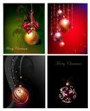 Fondo di Natale con la palla Fotografia Stock Libera da Diritti