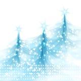 Fondo di Natale dell'estratto dell'illustrazione di vettore Immagini Stock
