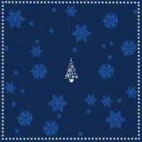 Fondo di Natale dell'illustrazione. Fotografia Stock
