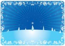 Fondo di Natale - illustrazione Fotografia Stock