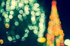 Fondo di Natale, immagine astratta Immagini Stock