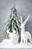 Fondo di Natale nello stile d'annata Cartolina d'auguri Fotografia Stock Libera da Diritti