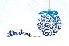 Fondo di Natale di vettore Fotografie Stock