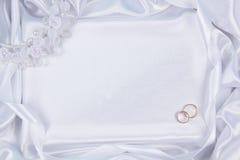 Fondo di nozze Fotografia Stock