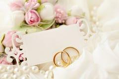 Fondo di nozze Immagini Stock