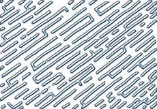 Fondo di numero quindici di stile del labirinto, vettore astratto con il tema metallico illustrazione di stock