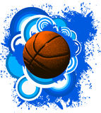 Fondo di pallacanestro Fotografia Stock Libera da Diritti