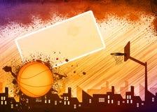 Fondo di pallacanestro illustrazione vettoriale