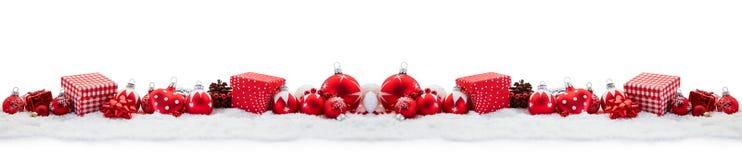 Fondo di panorama di Natale con i regali Immagine Stock