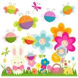 Fondo di Pasqua royalty illustrazione gratis