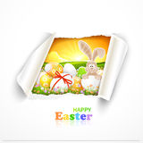 Fondo di Pasqua Fotografie Stock