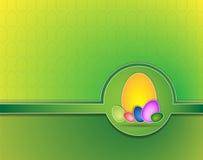 Fondo di Pasqua con le uova Fotografie Stock Libere da Diritti