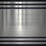 Fondo di piastra metallica Immagine Stock