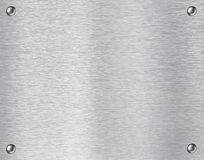 Fondo di piastra metallica d'acciaio di struttura Fotografie Stock