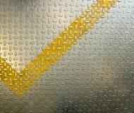 Fondo di piastra metallica del diamante Fotografia Stock Libera da Diritti