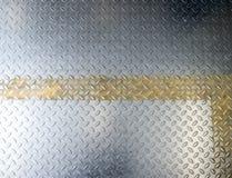 Fondo di piastra metallica del diamante Immagine Stock