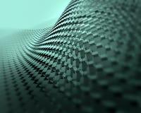 Fondo di piastra metallica riflettente brillante dell'estratto di tecnologia Immagine Stock Libera da Diritti